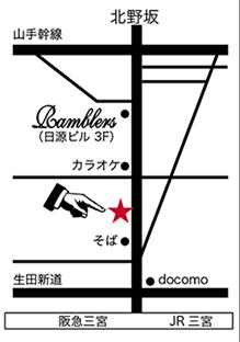 ダイヤモンドギャラリー地図